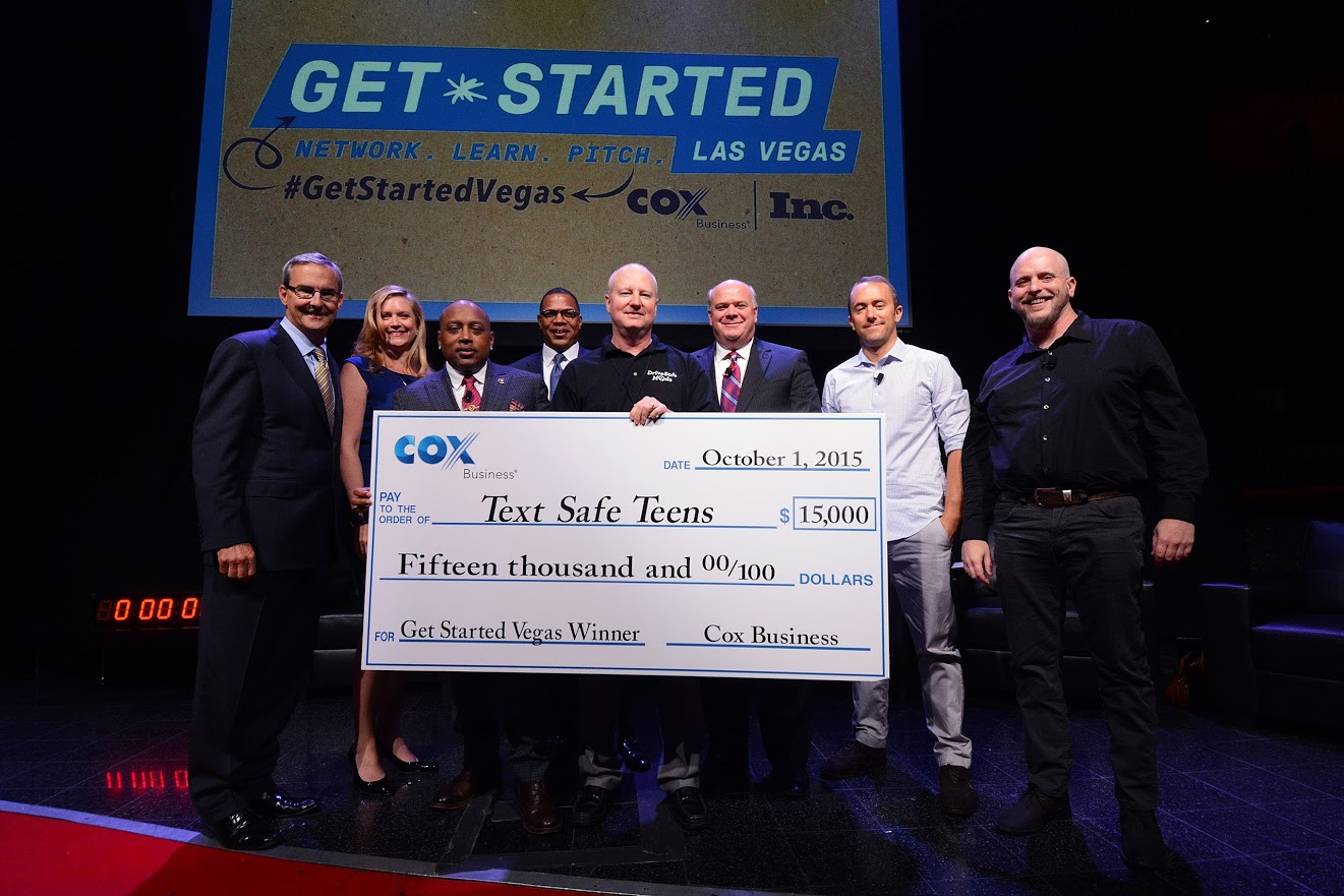 "Cox Business ""Get Started Las Vegas"" Winner is Putting Teen Drivers in Safe Mode"