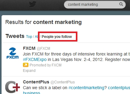 Generating leads through Twitter