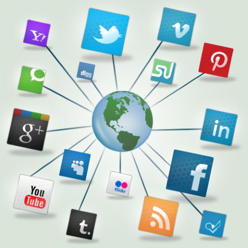 Social networks popular ways to promote products
